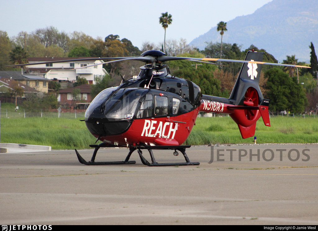 N316RX - Eurocopter EC 135P2+ - Reach Air Medical Services
