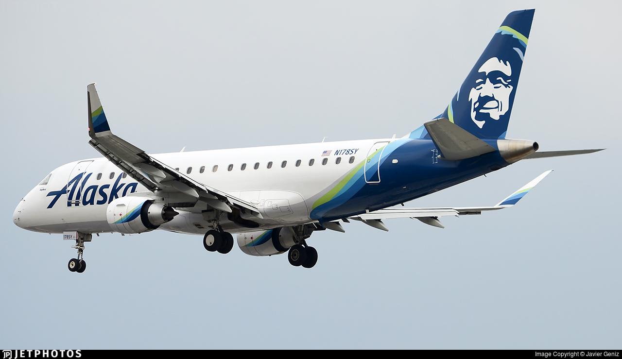 N178SY - Embraer 170-200LR - Alaska Airlines (Skywest Airlines)