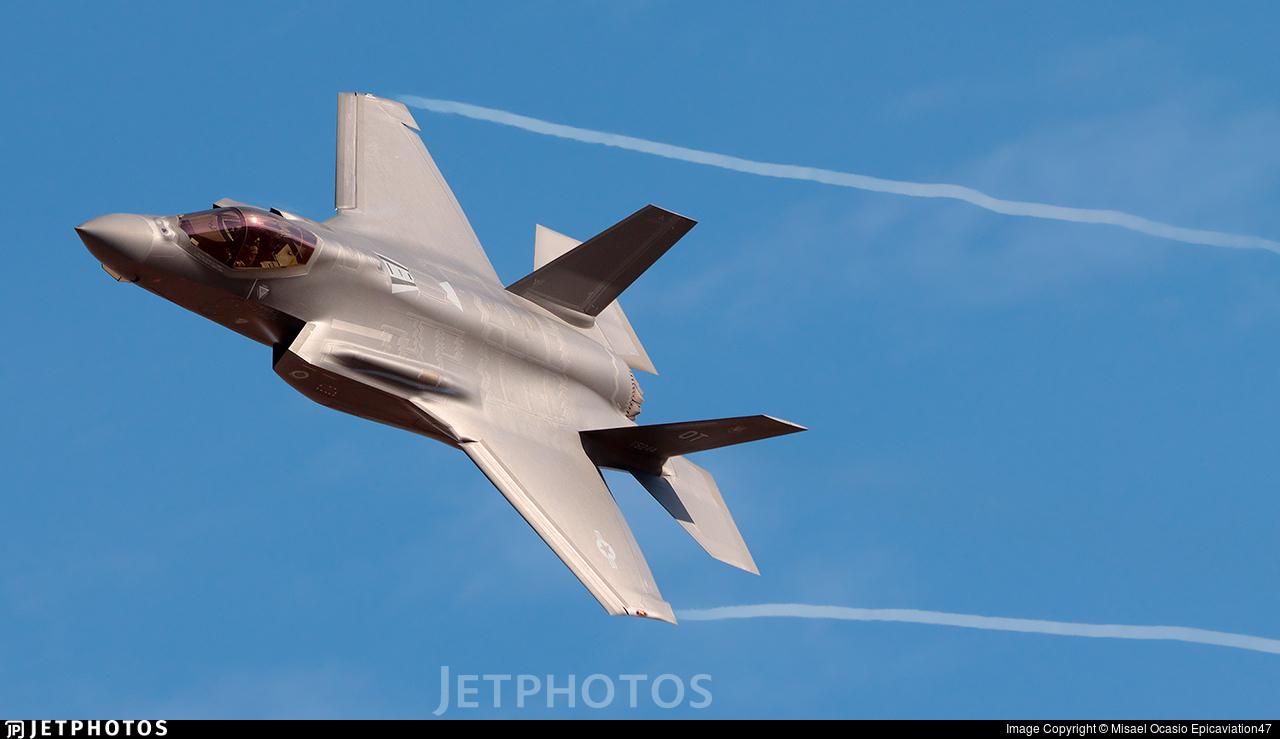 17-5244 - Lockheed Martin F-35A Lightning II - United States - US Air Force (USAF)