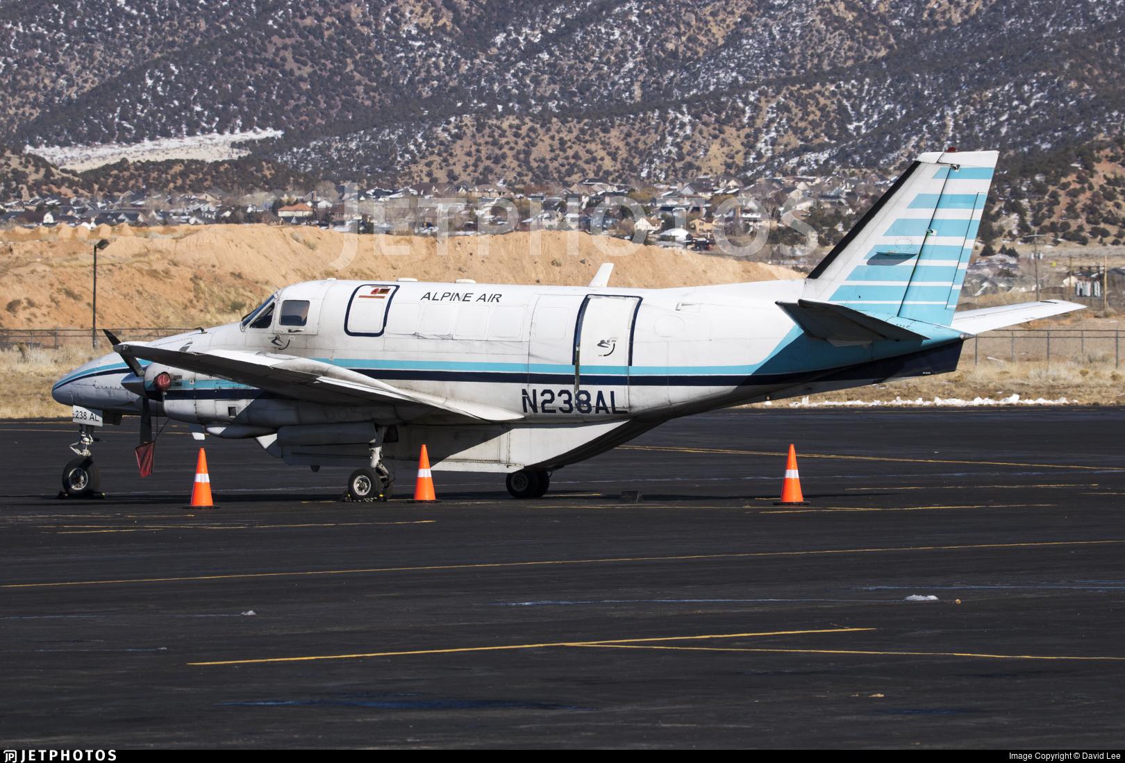 N238AL - Beech C99 Airliner - Alpine Airlines