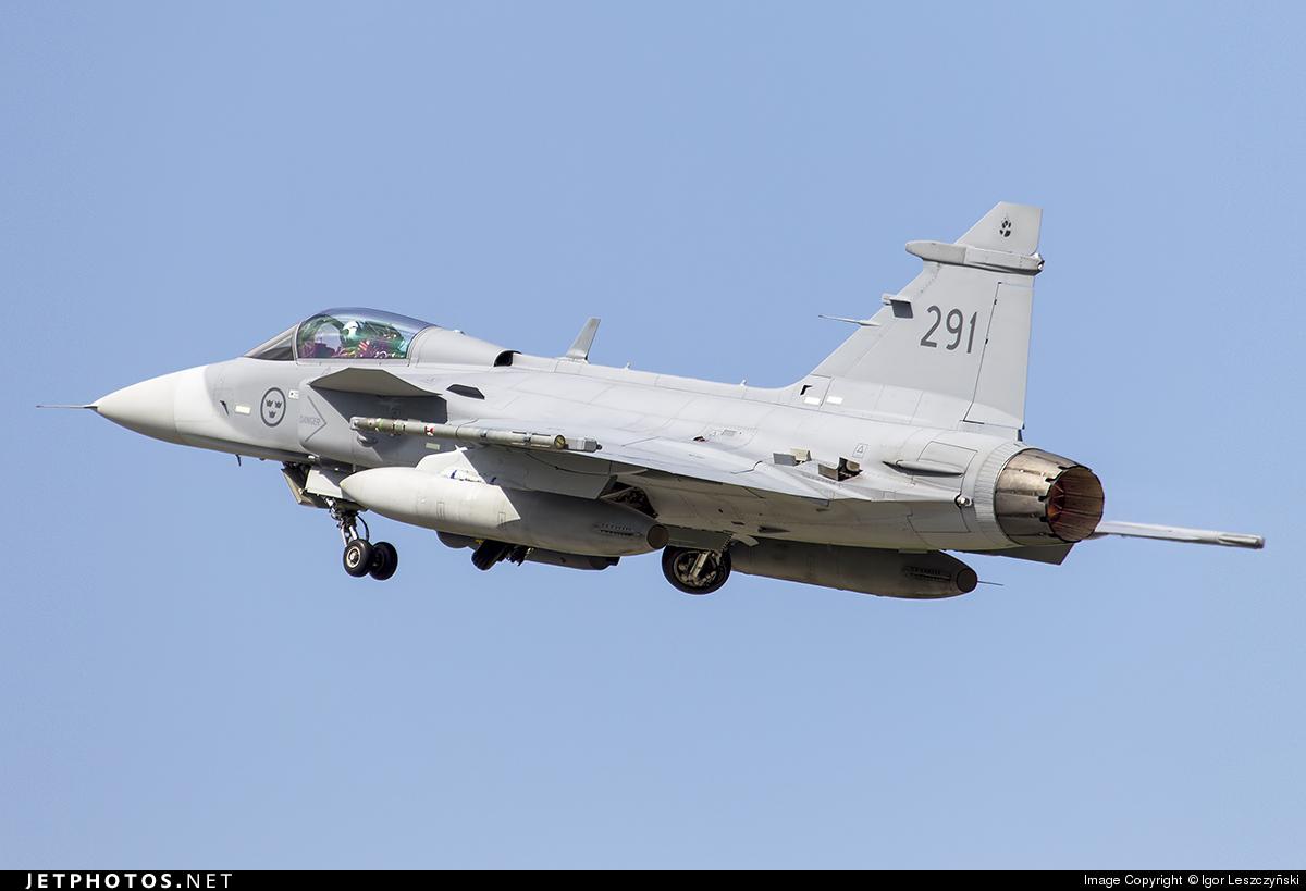 39291 - Saab JAS-39C Gripen - Sweden - Air Force