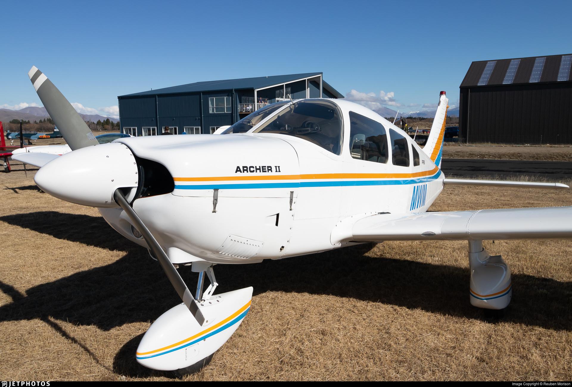 ZK-MWM - Piper PA-28-181 Archer II - Private