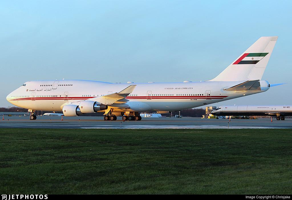 A6-HRM - Boeing 747-422 - United Arab Emirates - Dubai Air Wing