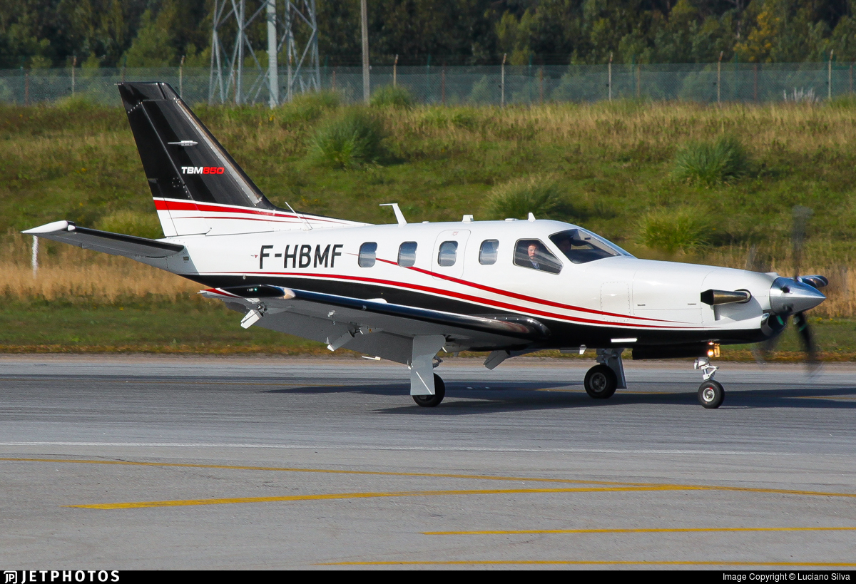 F-HBMF - Socata TBM-850 - Private