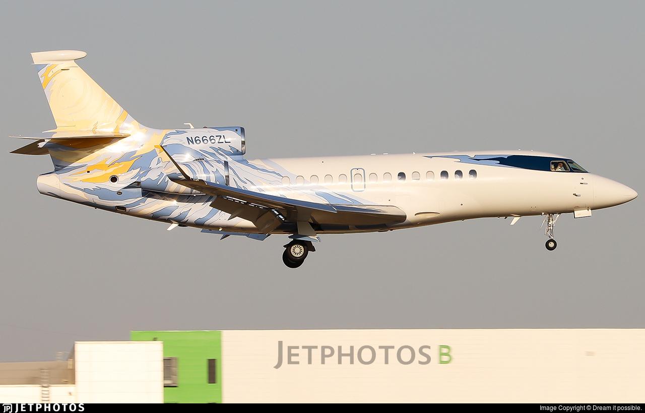 N666ZL - Dassault Falcon 7X - Private