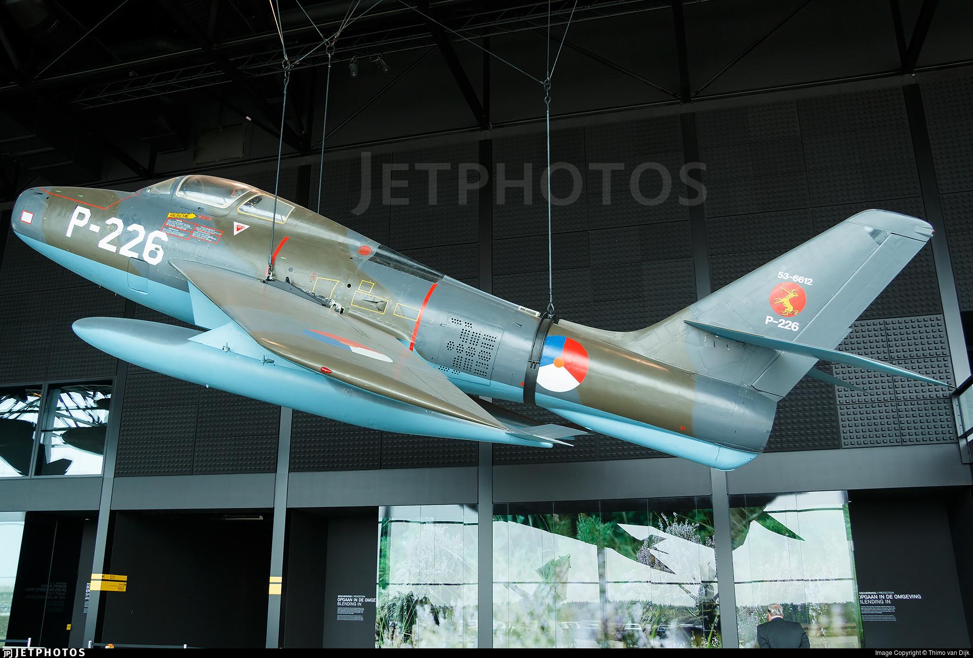 P-226 - Republic F-84F Thunderstreak - Netherlands - Royal Air Force