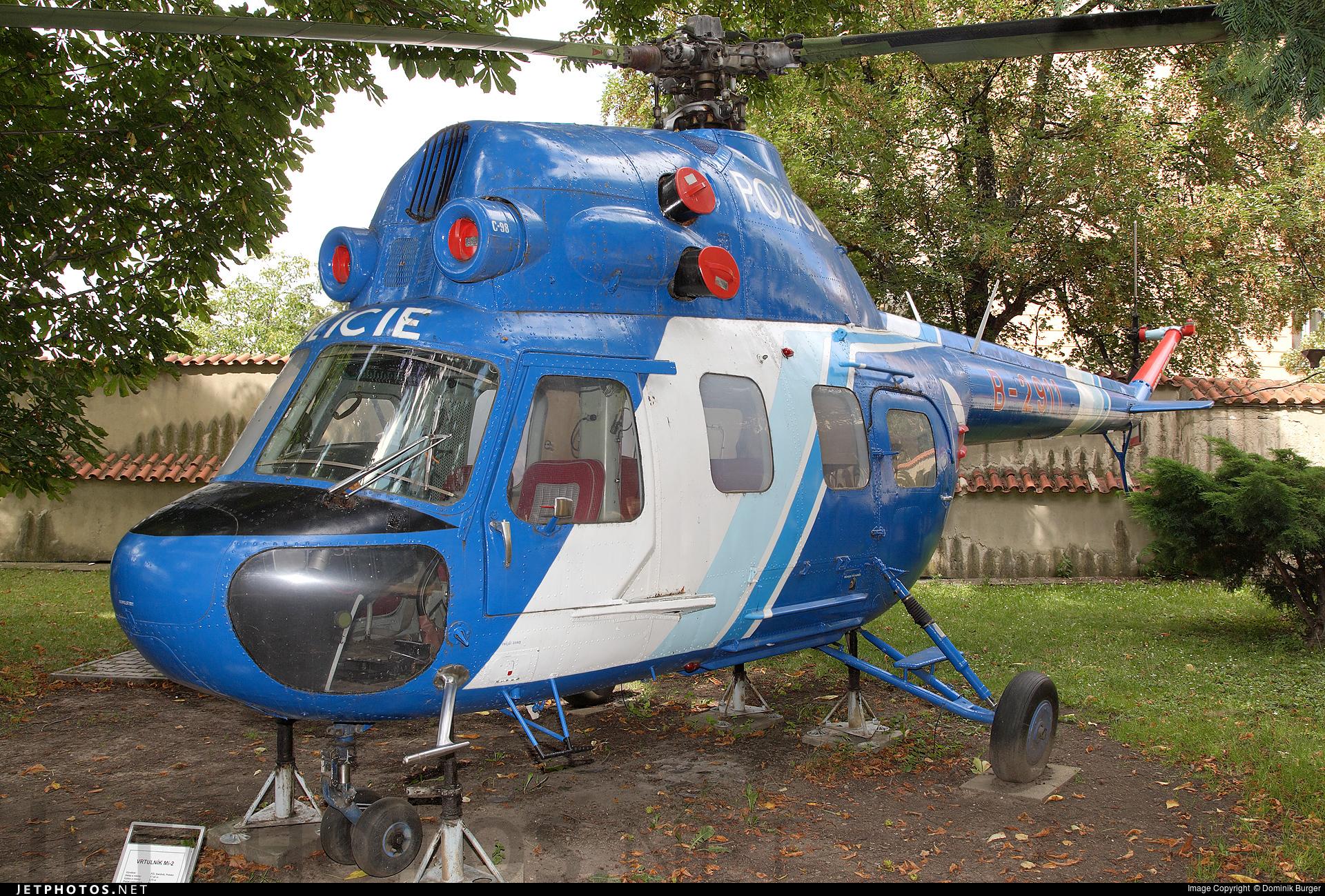 B-2911 - PZL-Swidnik Mi-2 Hoplite - Czech Republic - Police