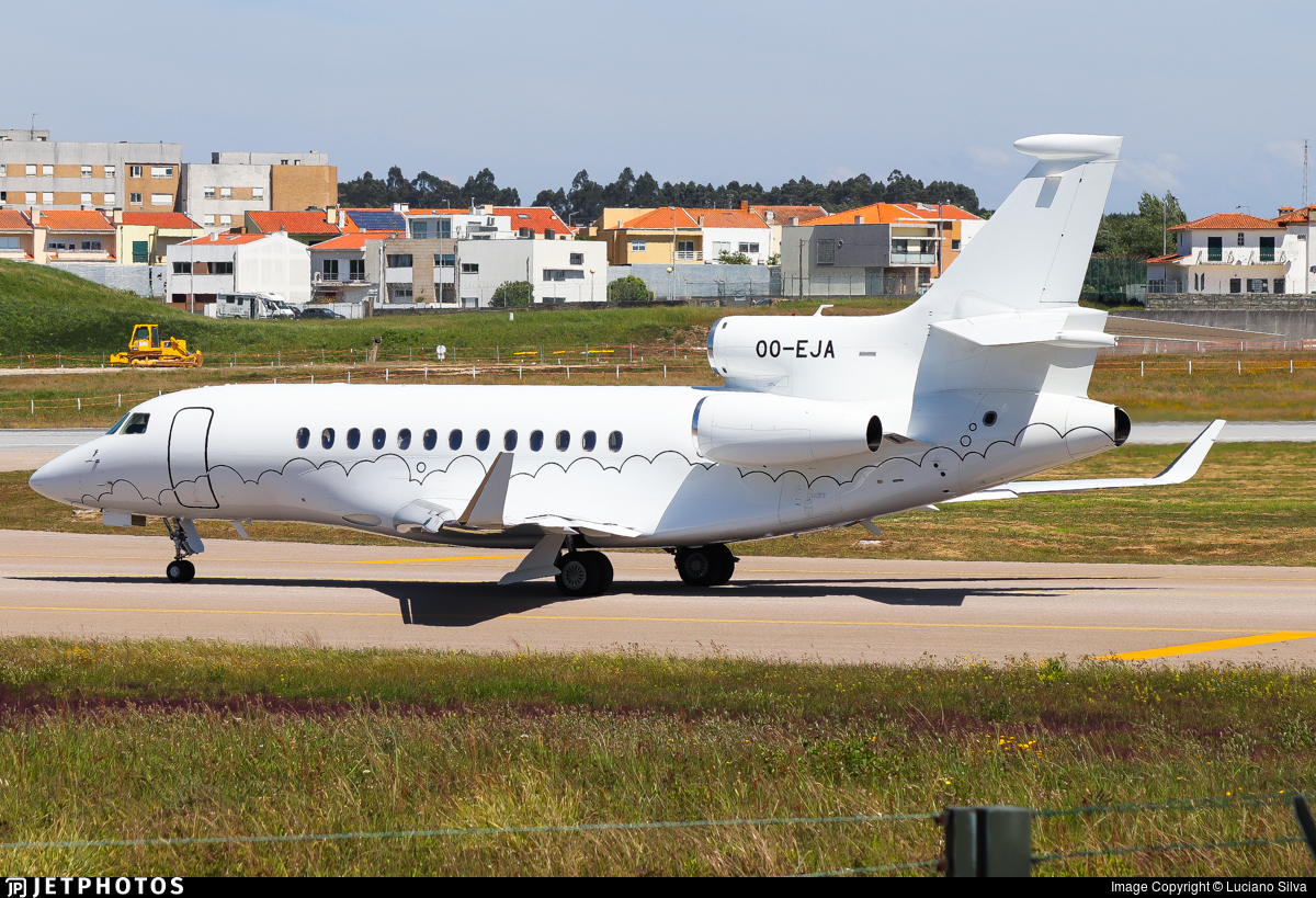OO-EJA - Dassault Falcon 7X - Private