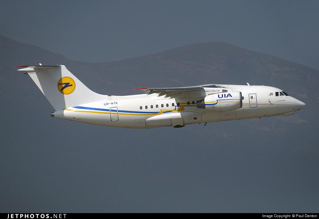UR-NTA - Antonov An-148-100B - Ukraine International Airlines