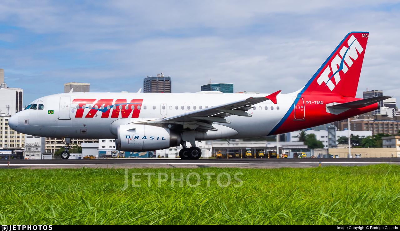 PT-TMG - Airbus A319-132 - TAM Linhas A�reas