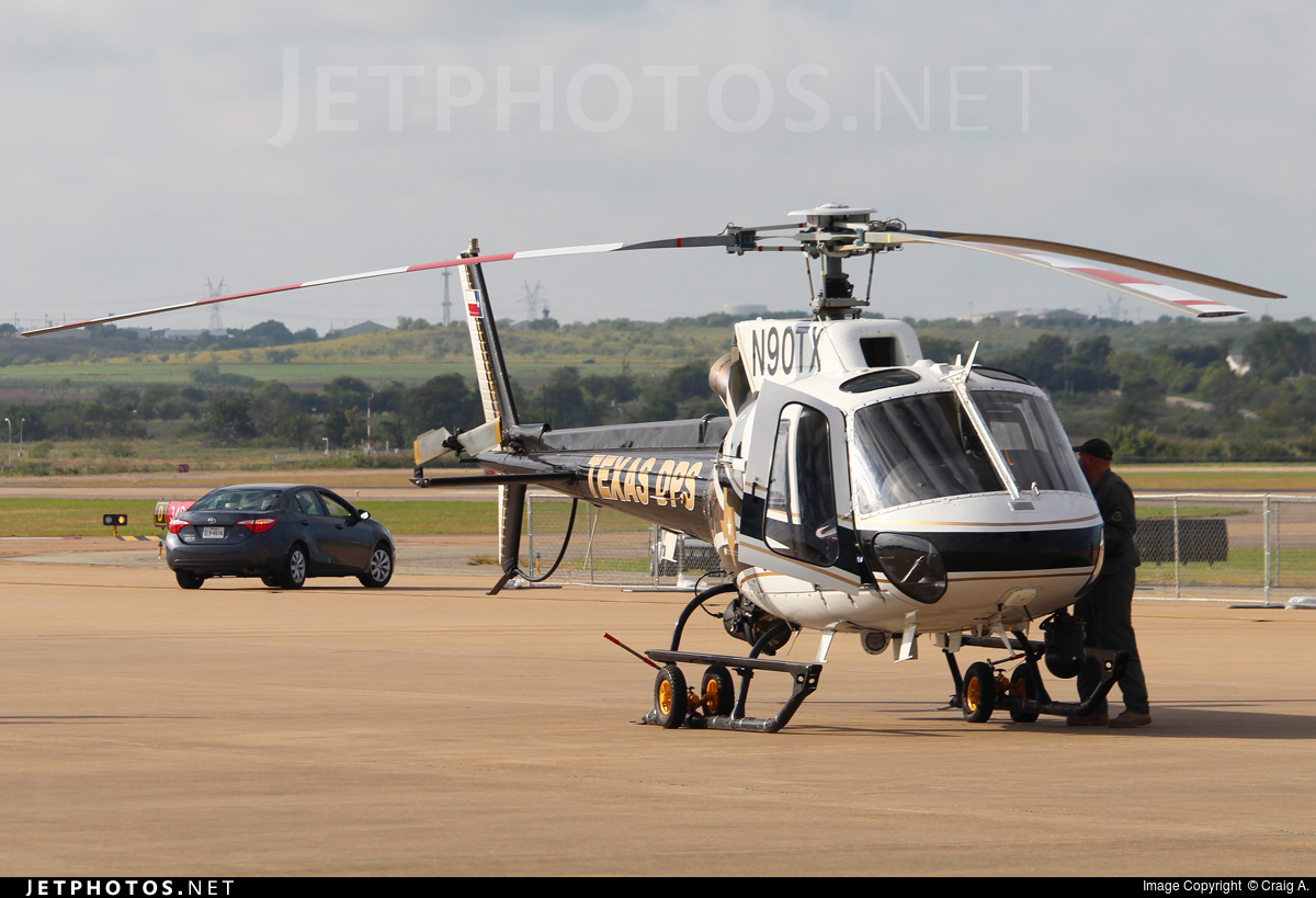 N90TX - Aérospatiale AS 350B2 Ecureuil - United States - Texas Department of Public Safety