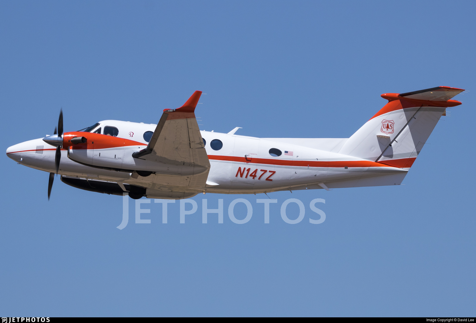 N147Z - Beechcraft B200GT Super King Air - United States - US Forest Service (USFS)