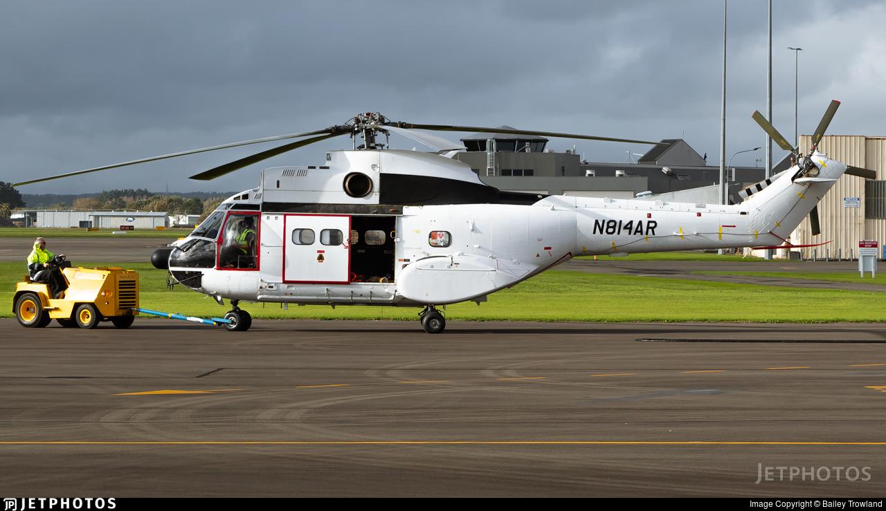 N814AR - Aérospatiale SA 330J Puma - Private