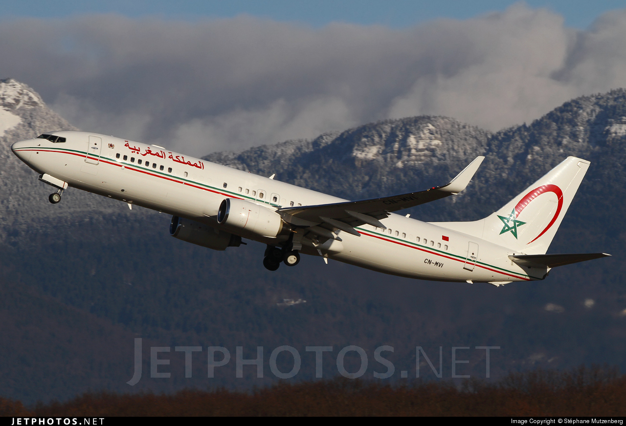 CN-MVI - Boeing 737-8KB(BBJ) - Morocco - Government