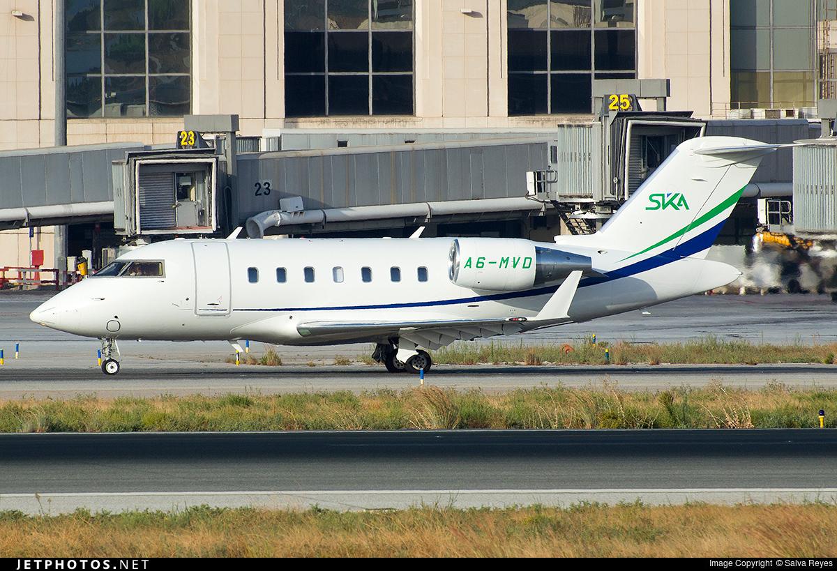 A6-MVD - Bombardier CL-600-2B16 Challenger 605 - SKA International Group