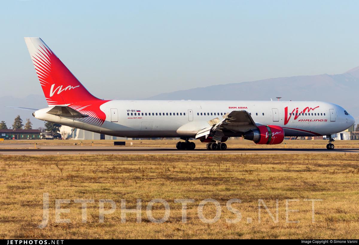VP-BVI - Boeing 767-3Q8(ER) - Vim Airlines