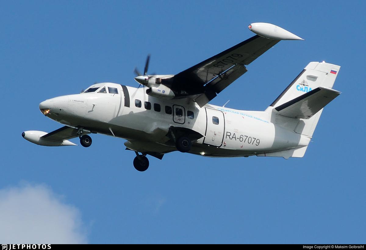 RA-67079 - Let L-410UVP-E20 Turbolet - Siberian Light Aviation (SiLA)