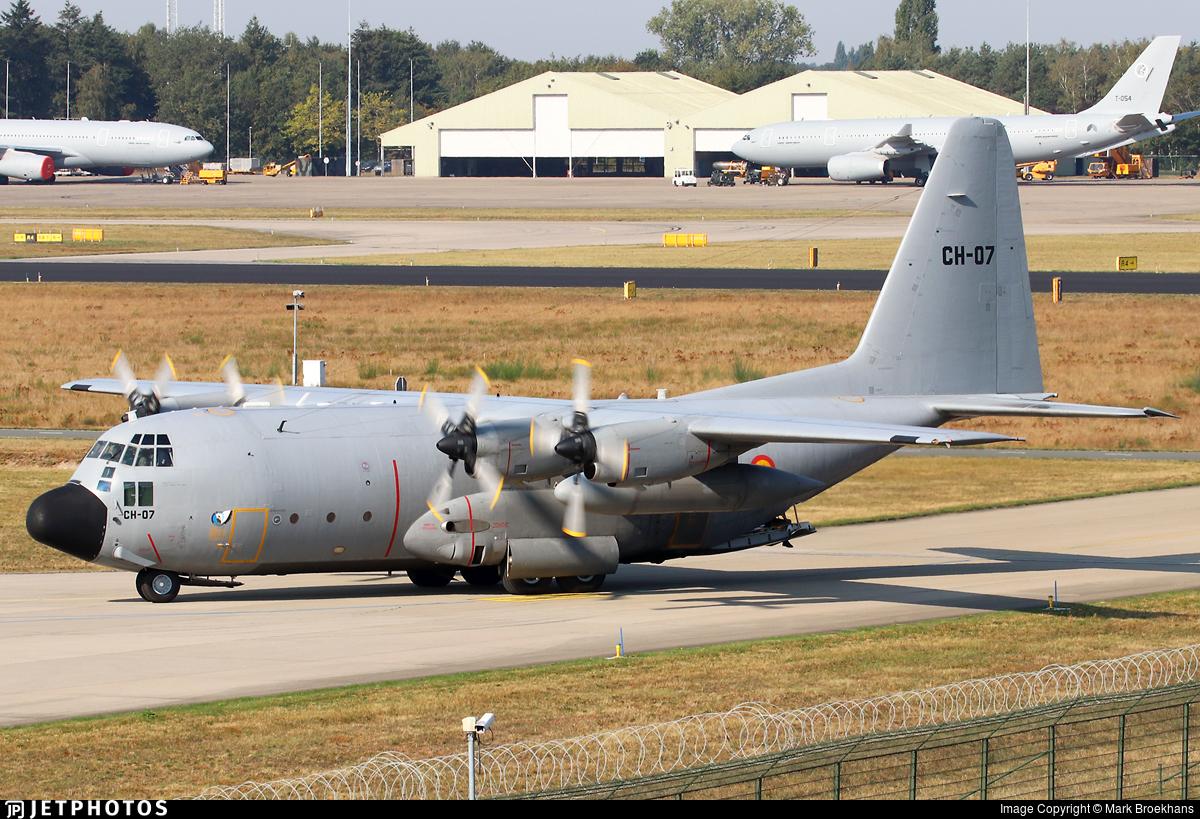 CH-07 - Lockheed C-130H Hercules - Belgium - Air Force