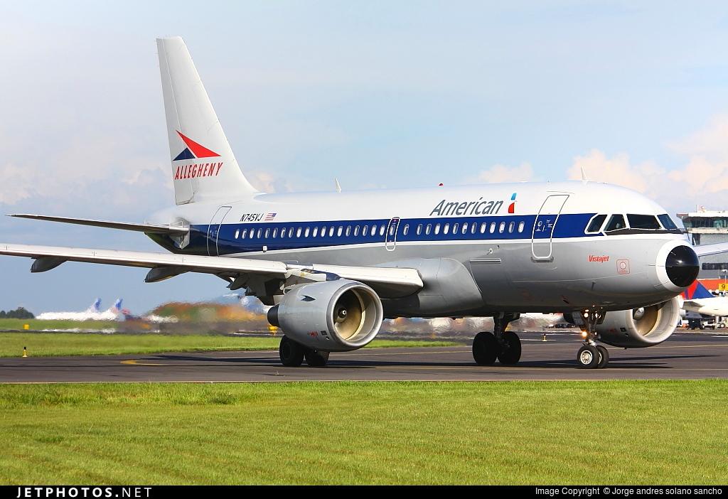 N745VJ - Airbus A319-112 - American Airlines