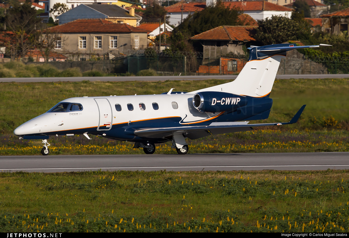 D-CWWP - Embraer 505 Phenom 300 - Windrose Air Jetcharter