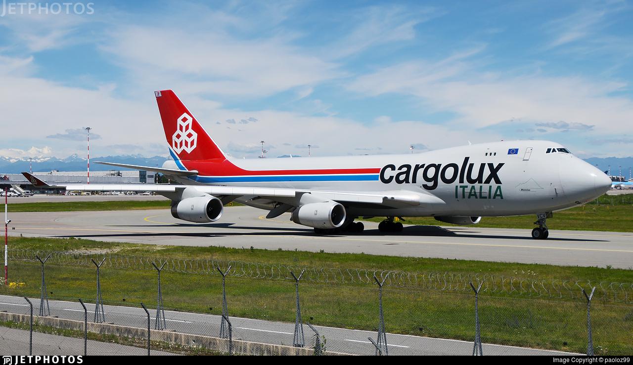 LX-VCV - Boeing 747-4R7F(SCD) - Cargolux Italia Airlines