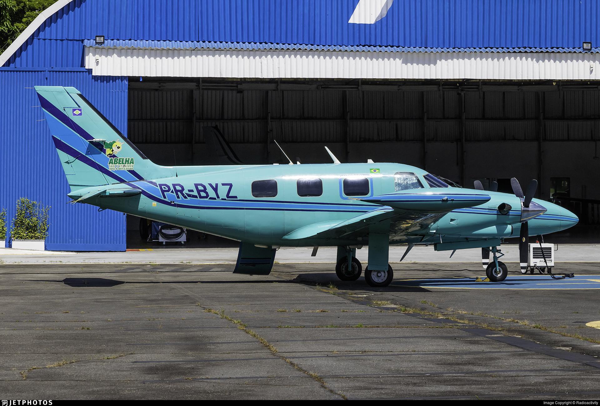 PR-BYZ - Piper PA-31T1 Cheyenne I - Abelha Taxi Aéreo e UTI