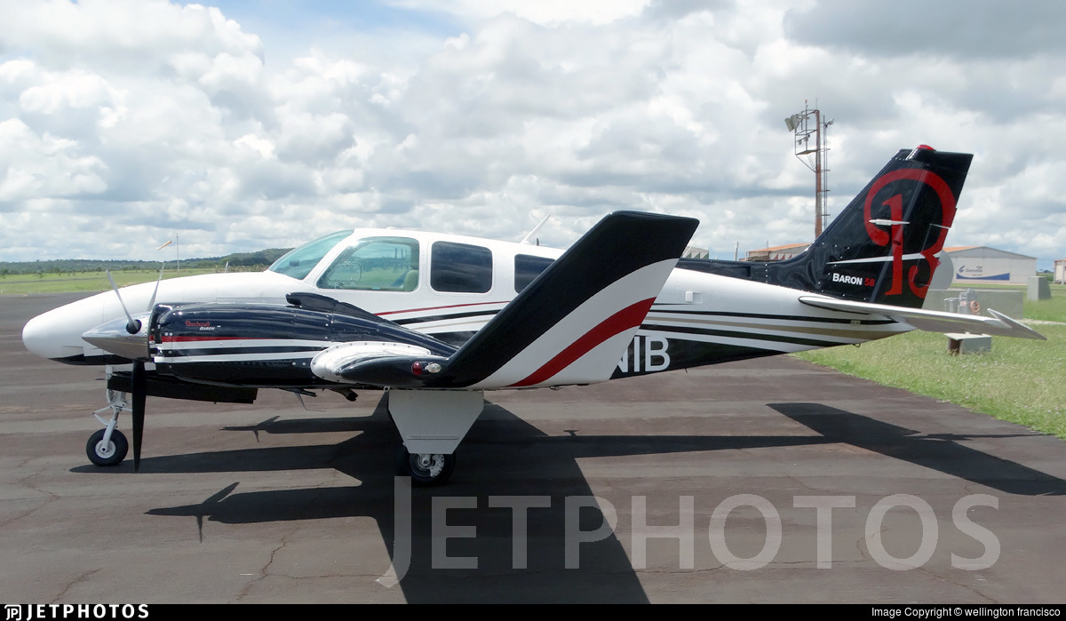 PR-NIB - Beechcraft 58 Baron - Private