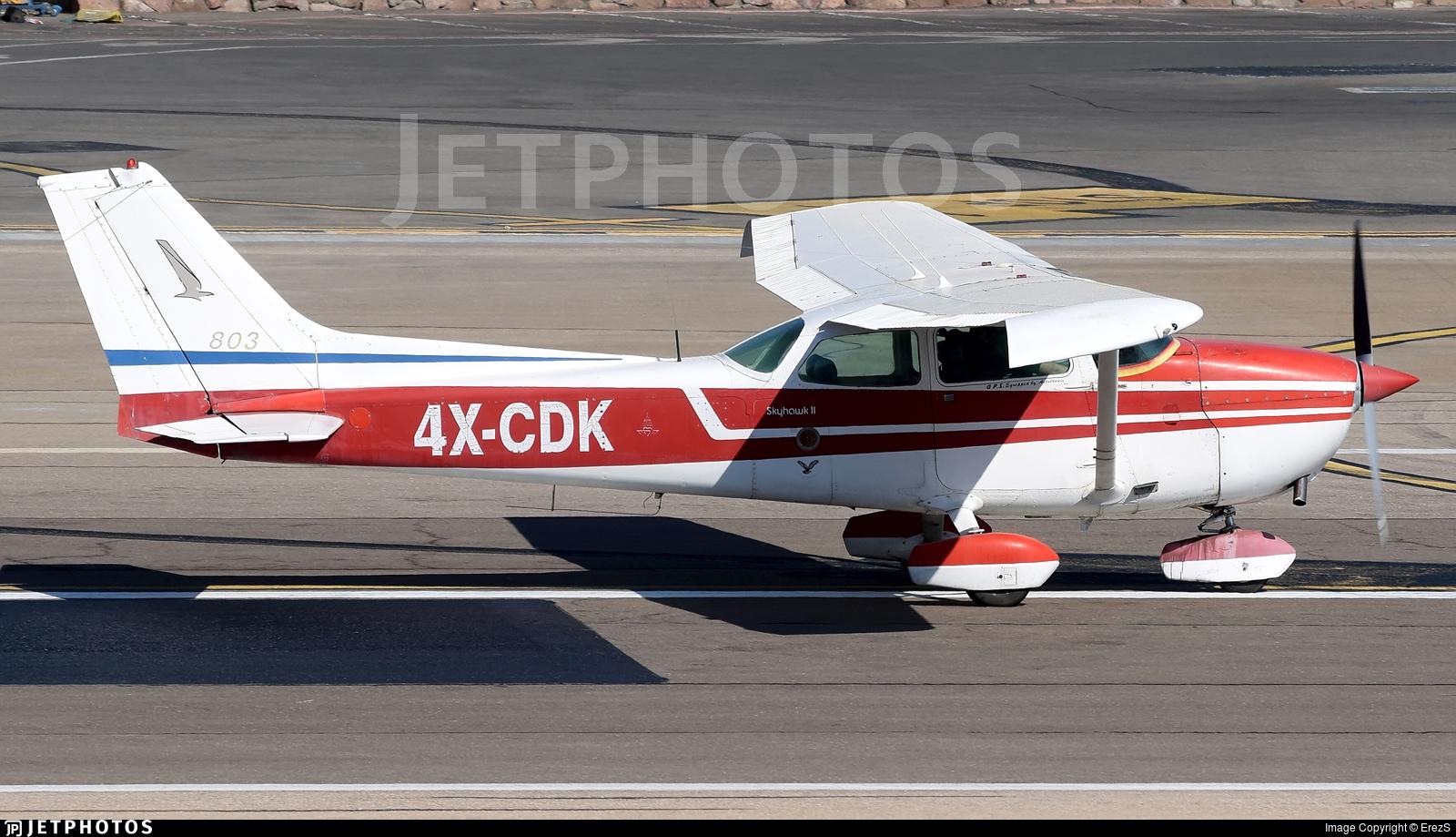 4X-CDK - Cessna 172M Skyhawk II - Private