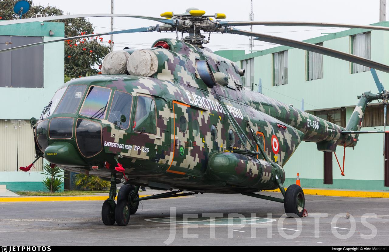 EP-686 - Mil Mi-171Sh-P - Perú - Army