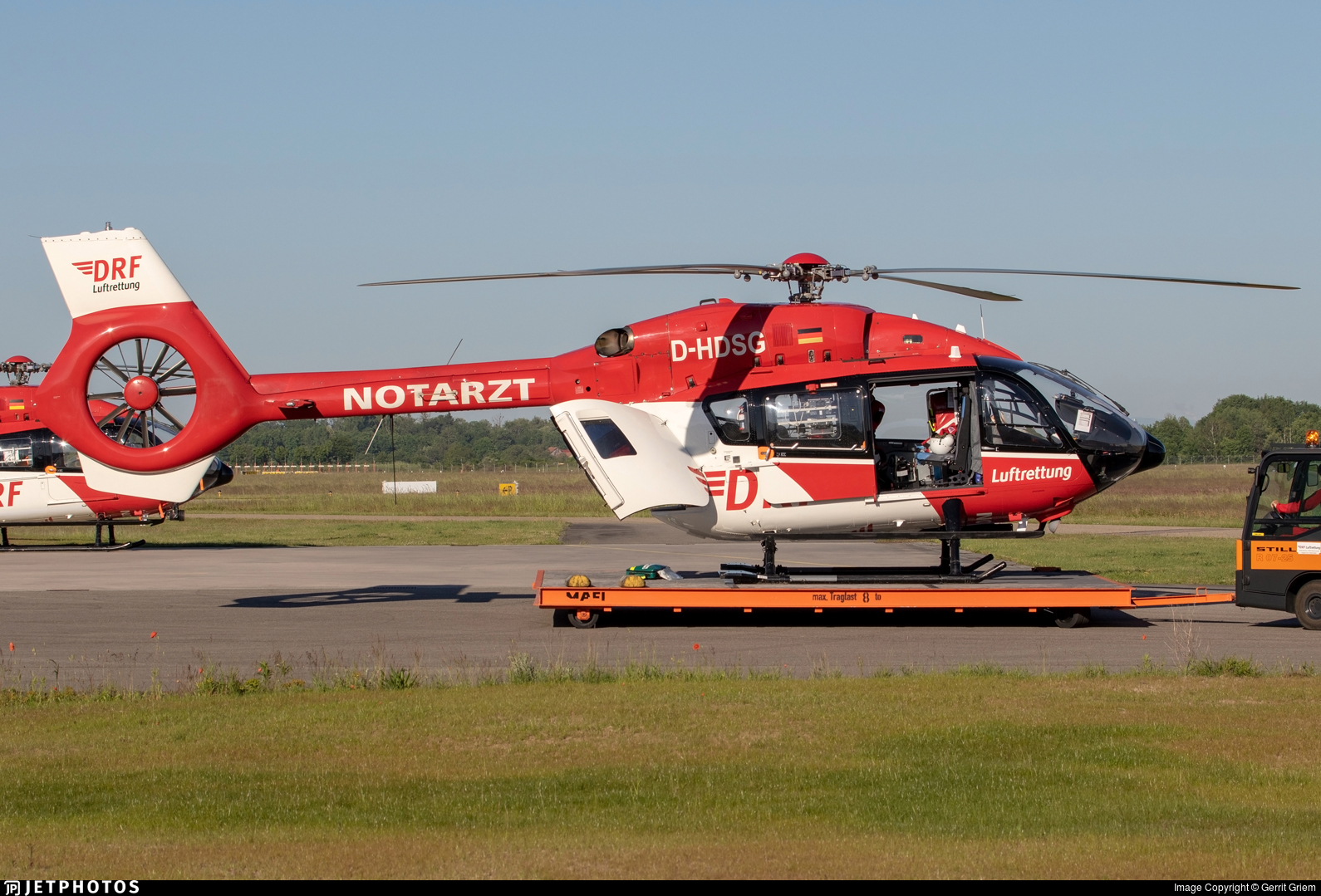 D-HDSG - Airbus Helicopters H145 - DRF Luftrettung