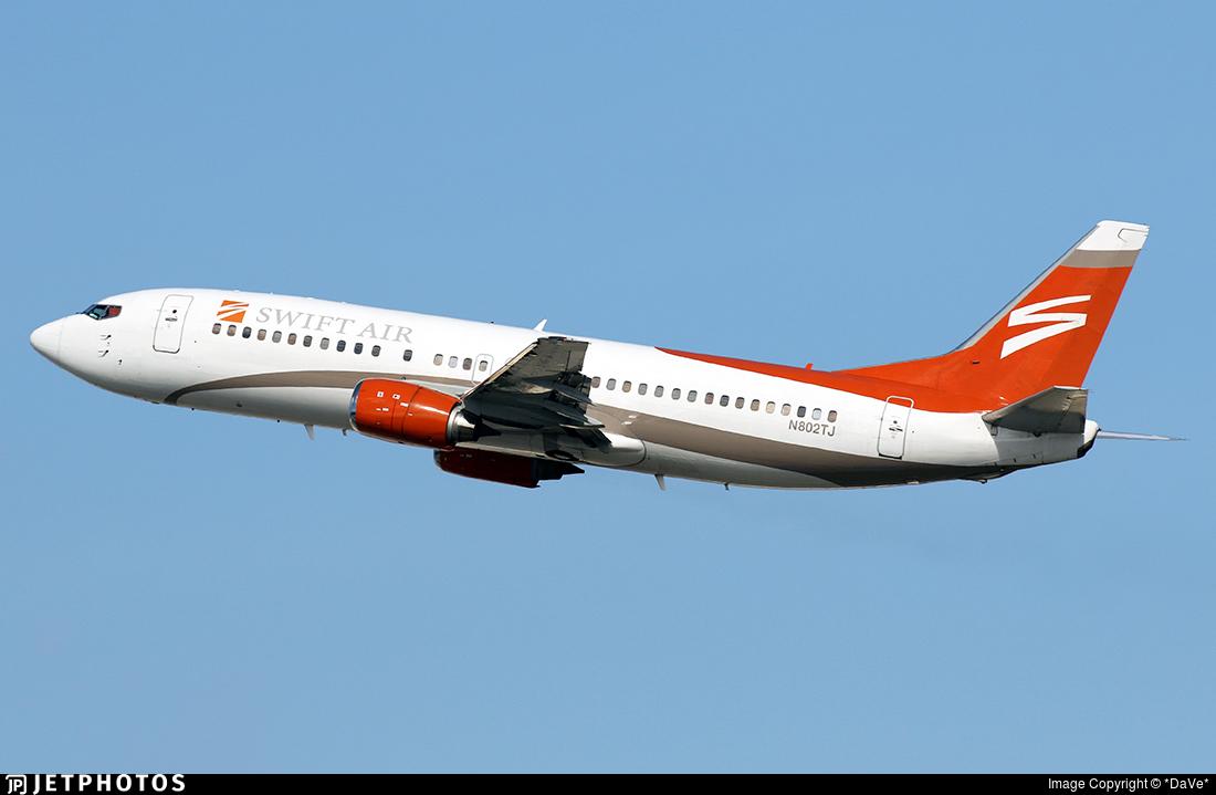 N802TJ - Boeing 737-4B7 - Swift Air