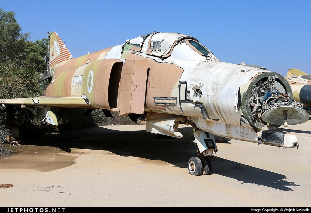 285 - McDonnell Douglas F-4E Phantom II - Israel - Air Force