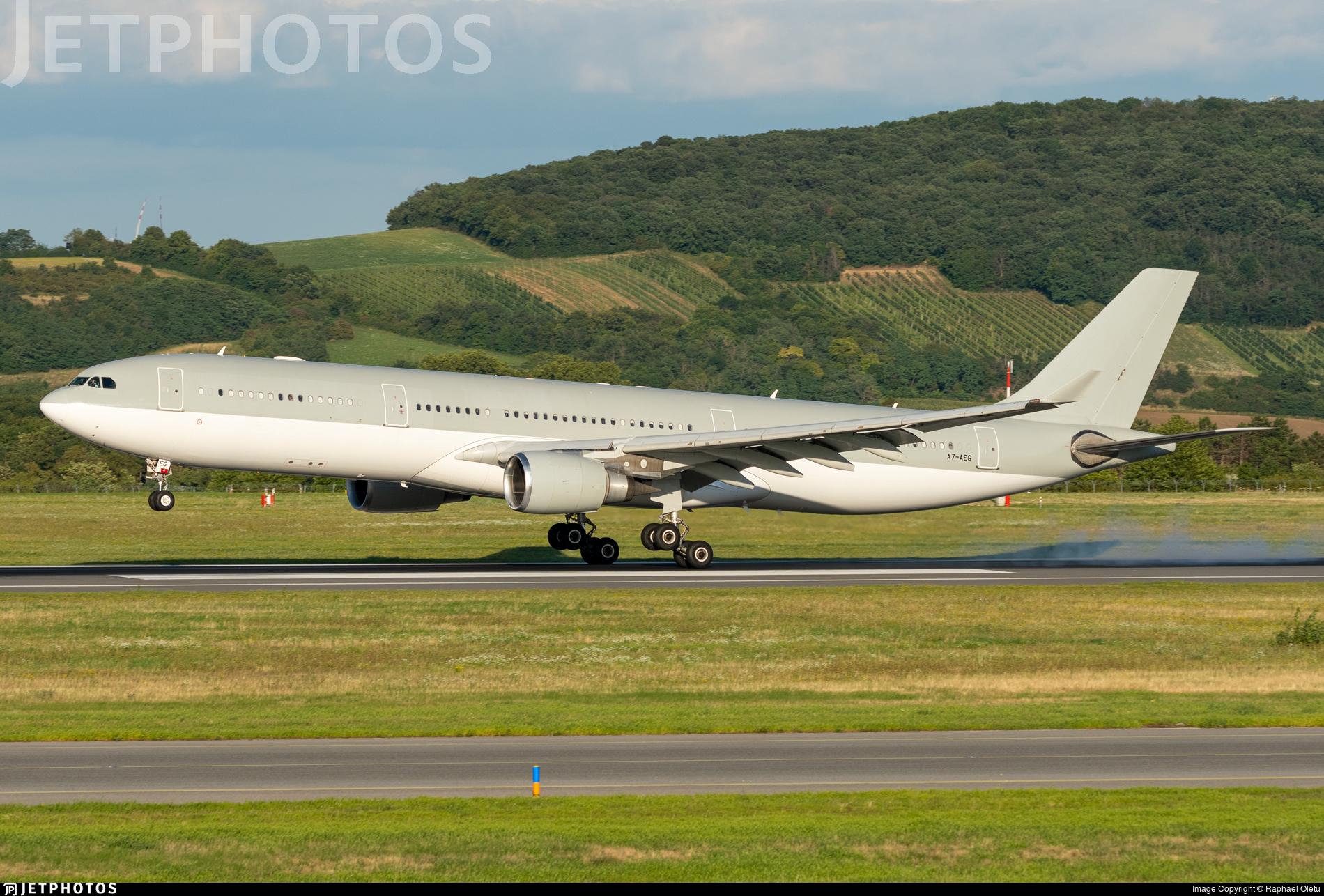 A7-AEG - Airbus A330-302 - Untitled