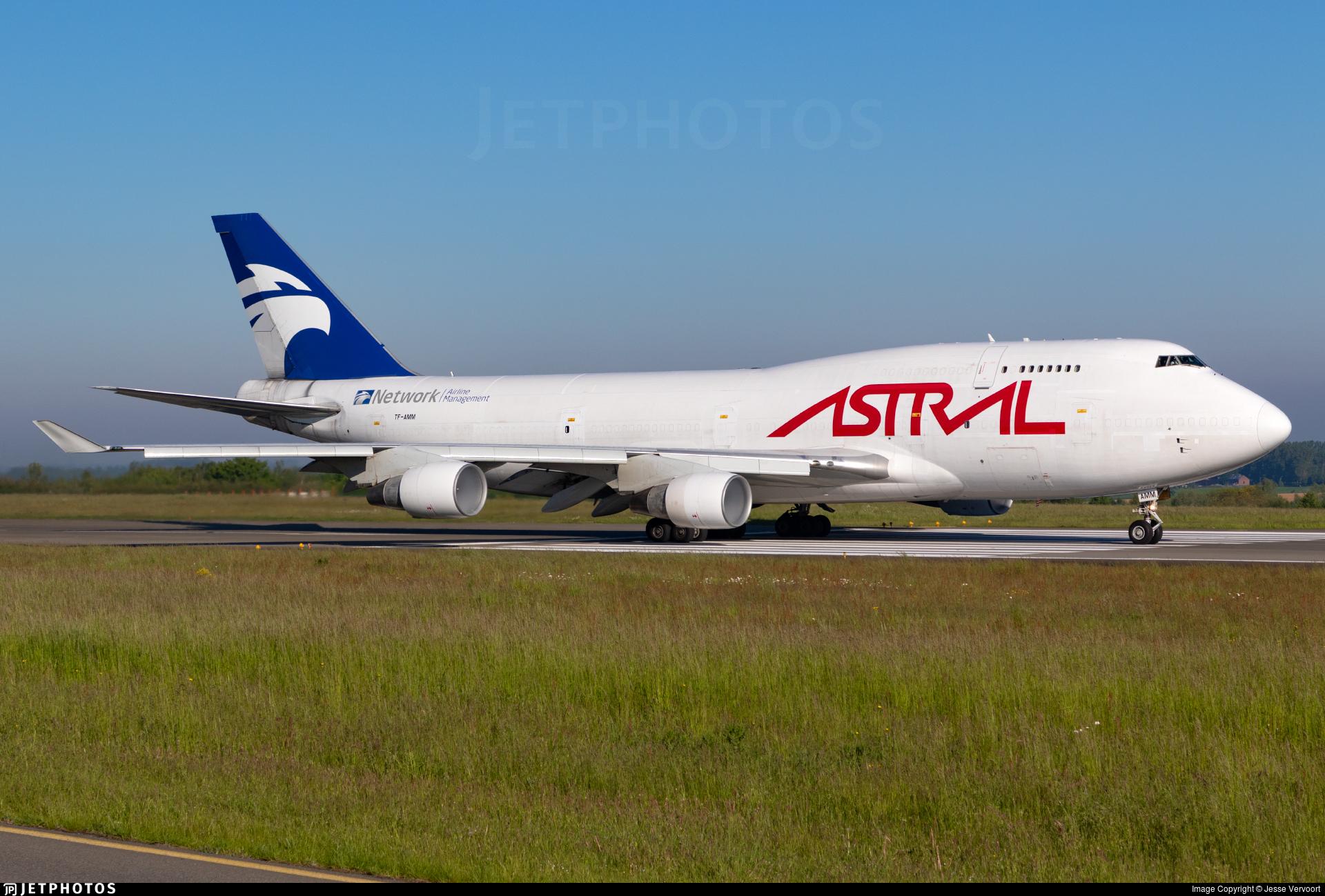 TF-AMM - Boeing 747-4H6(BDSF) - Astral Aviation (Air Atlanta Icelandic)