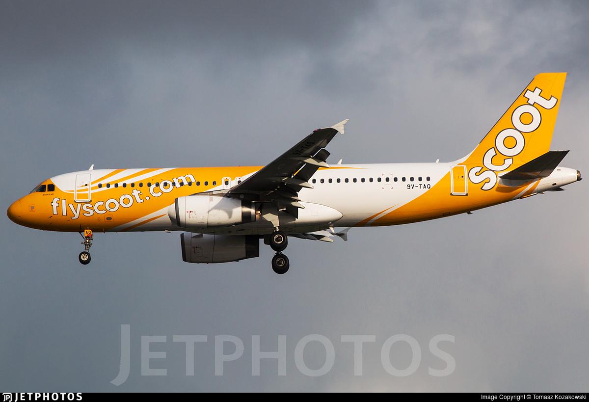 9V-TAQ - Airbus A320-232 - Scoot