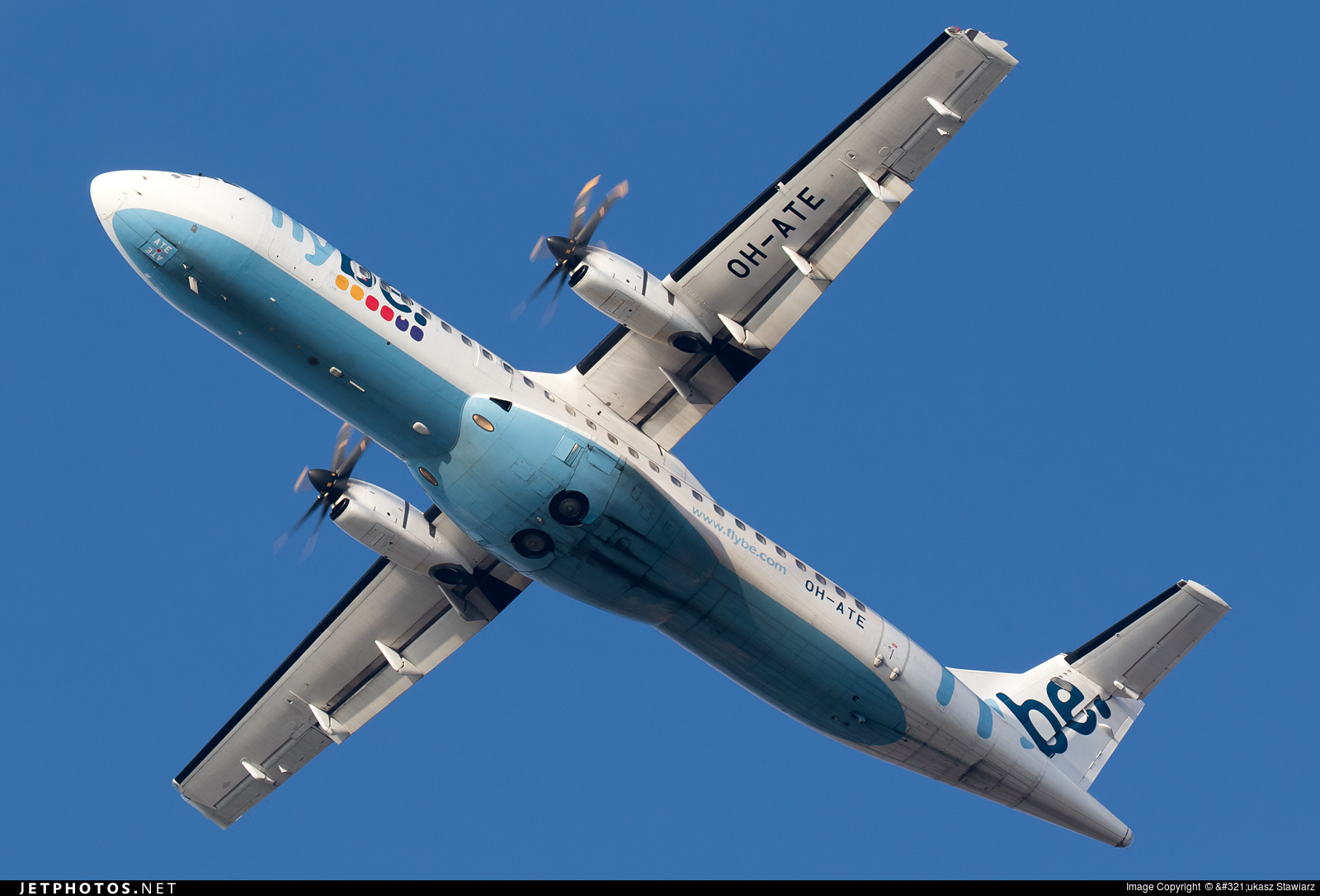OH-ATE - ATR 72-212A(500) - Flybe Nordic