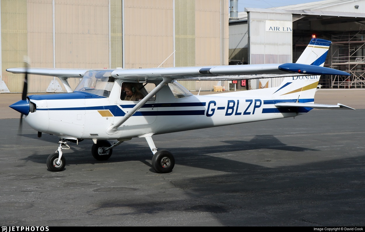 G-BLZP - Reims-Cessna F152 II - Donair Flying Club