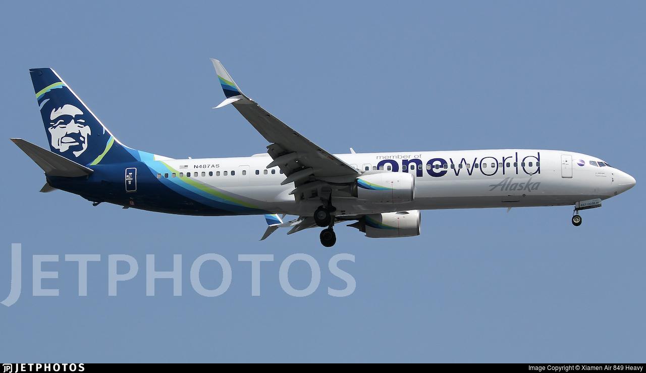 N487AS - Boeing 737-990ER - Alaska Airlines