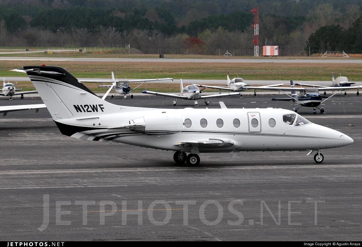 N12WF - Beechcraft 400A Beechjet - Private