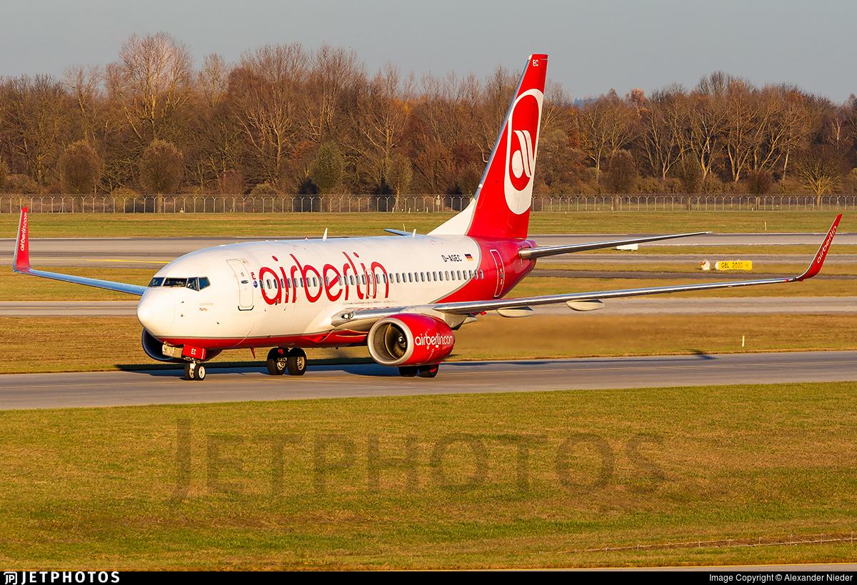 D-AGEC - Boeing 737-76J - Air Berlin