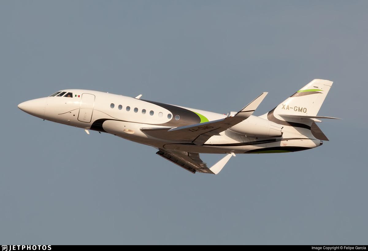 XA-GMO - Dassault Falcon 2000S - Private