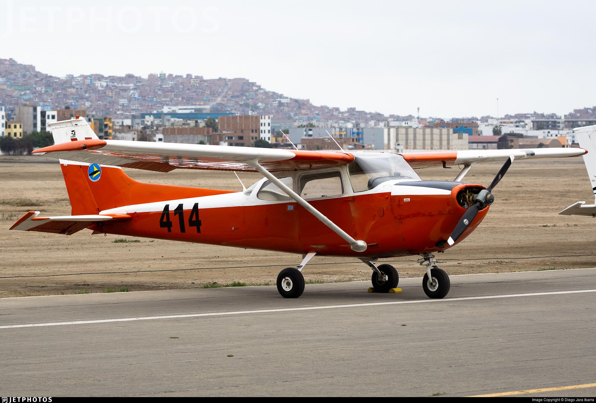 414 - Cessna T-41D Mescalero - Perú - Air Force