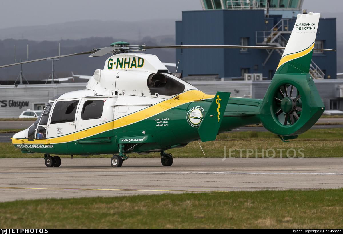 G-NHAD - Airbus Helicopters AS365 N3+ Dauphin - Multiflight