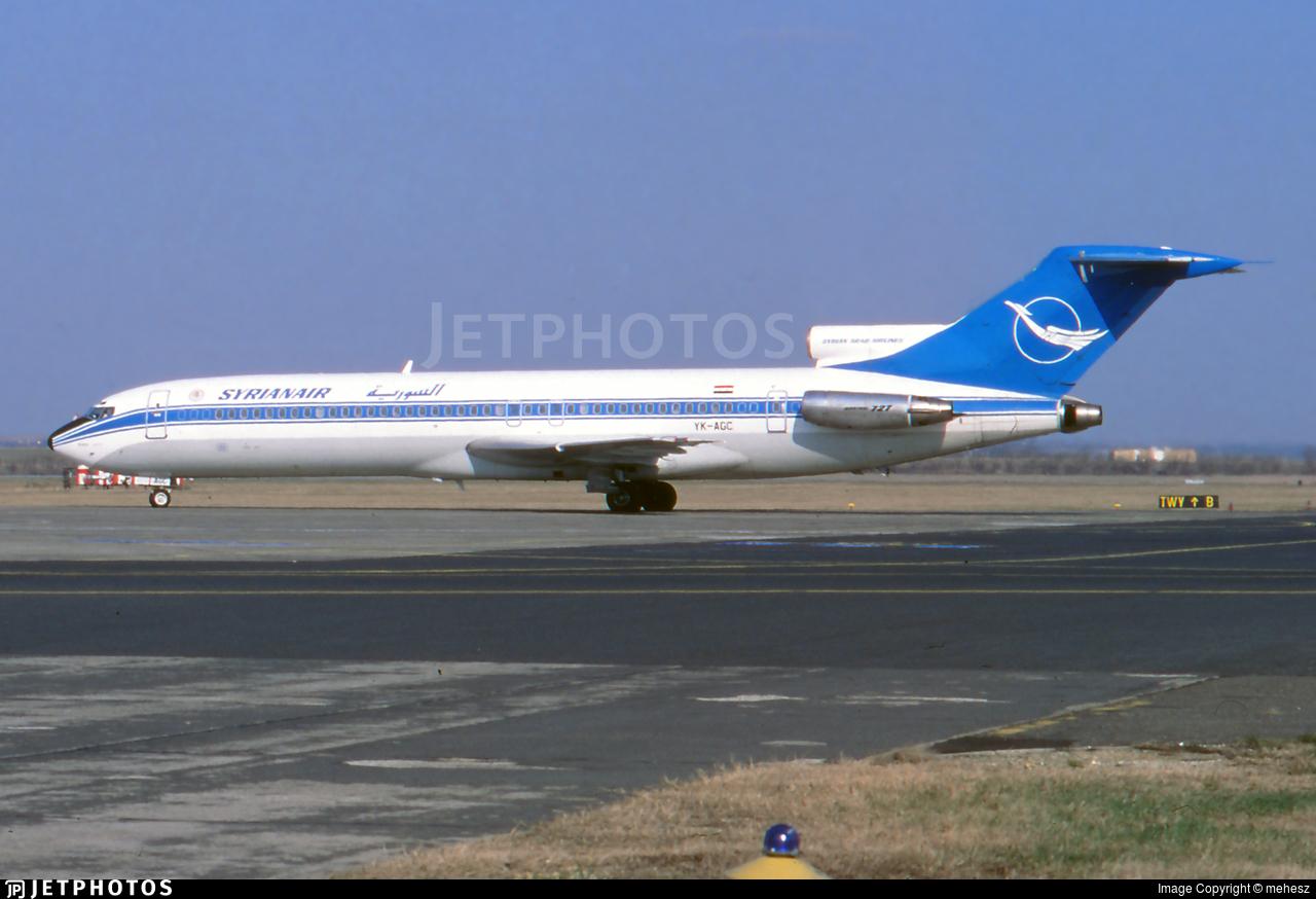 YK-AGC - Boeing 727-294(Adv) - Syrianair - Syrian Arab Airlines