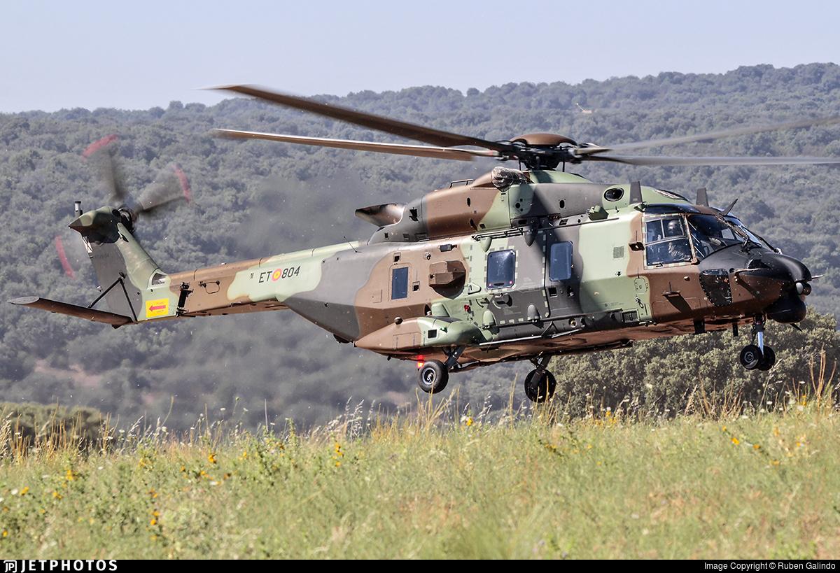 HT.29-04 - NH Industries NH-90TTH - Spain - Army