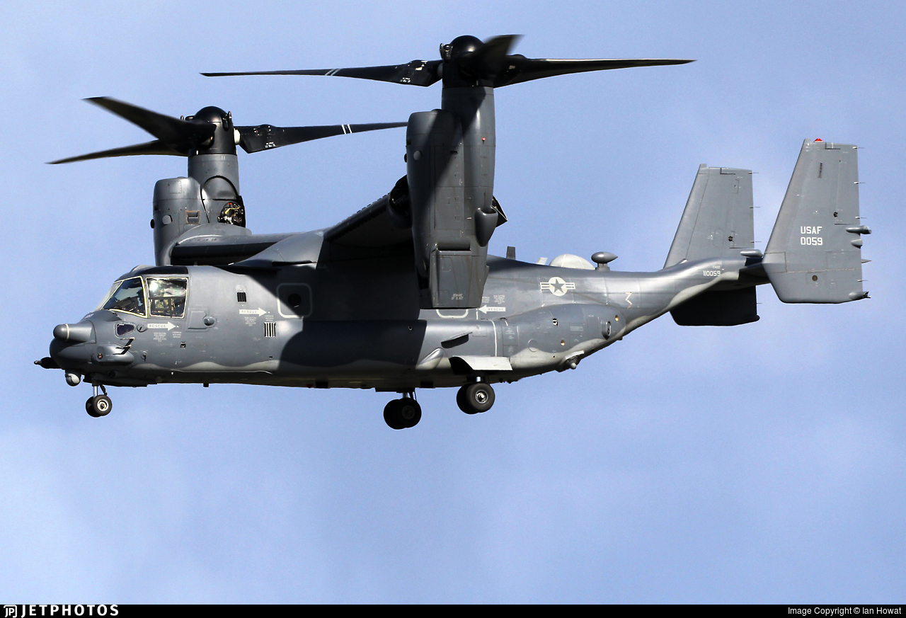 11-0059 - Boeing CV-22B Osprey - United States - US Air Force (USAF)