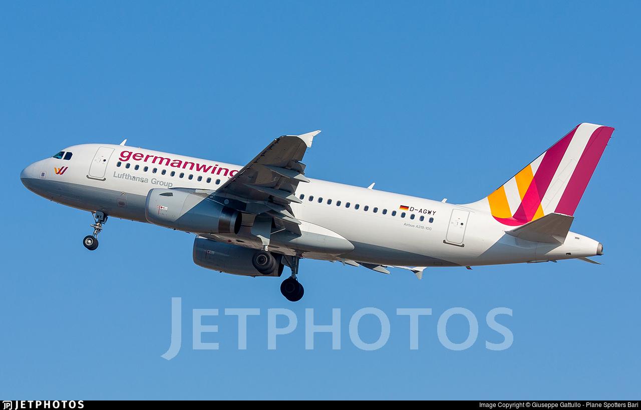 D-AGWY - Airbus A319-132 - Germanwings