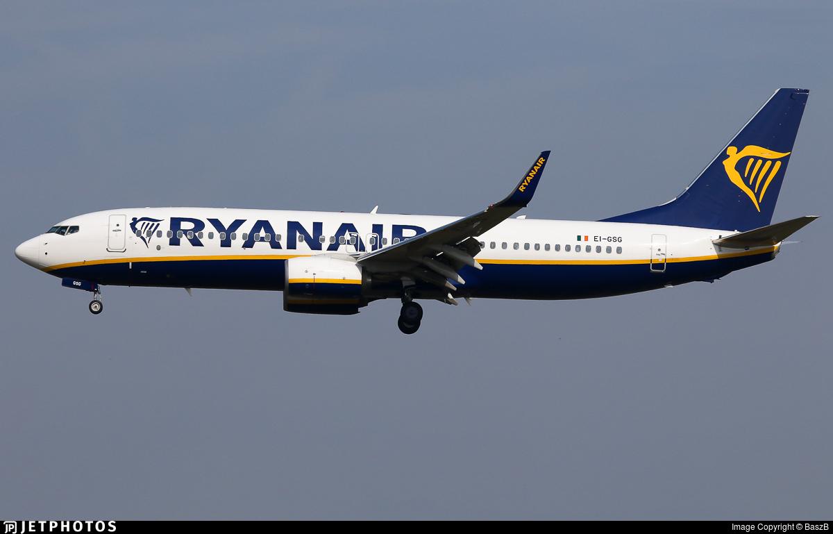 EI-GSG - Boeing 737-8AS - Ryanair