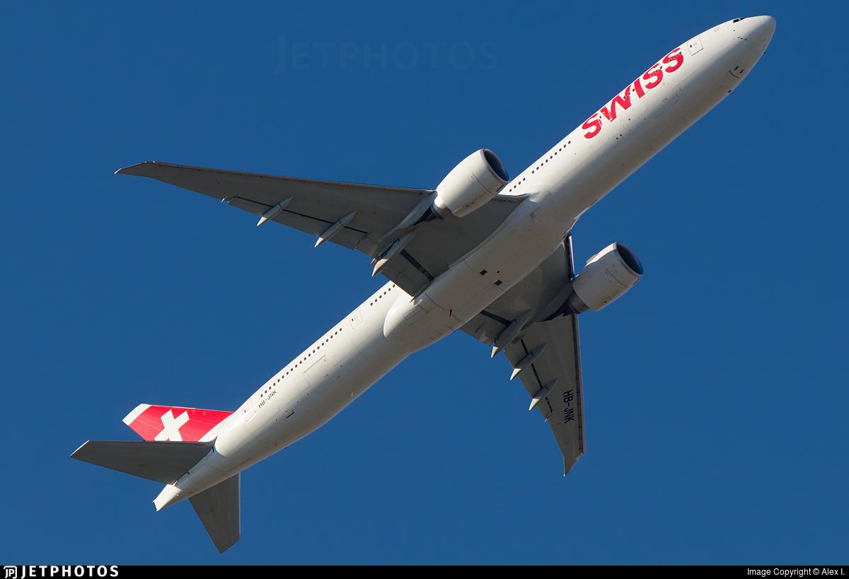 HB-JNK - Boeing 777-3DEER - Swiss