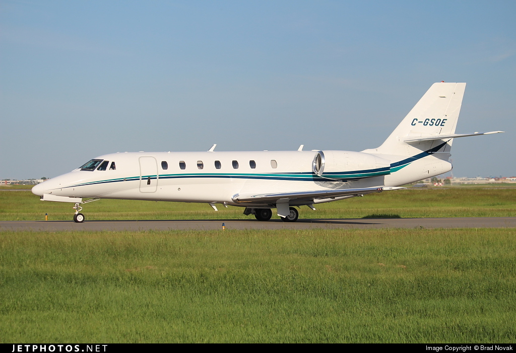 C-GSOE - Cessna 680 Citation Sovereign - Private